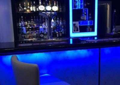 Bar Area at The Caerwylan, Criccieth, North Wales