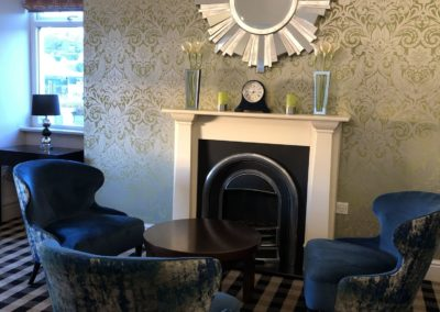 Lounge at The Caerwylan, Criccieth, North Wales
