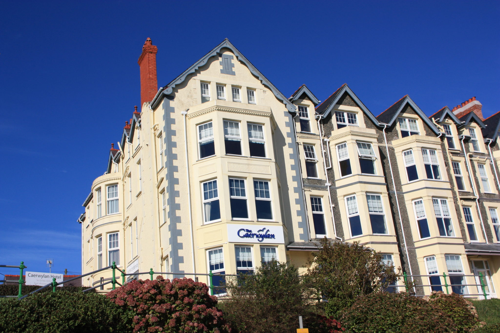 The Caerwylan Exterior View, Criccieth North Wales
